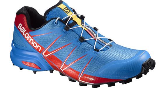 Salomon Speedcross Pro - Chaussures de running Homme - rouge/bleu